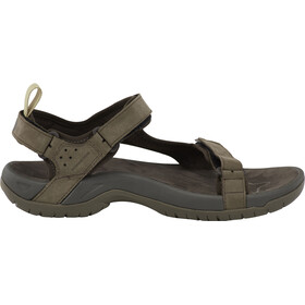 Teva Tanza Leather Sandaalit Miehet, brown